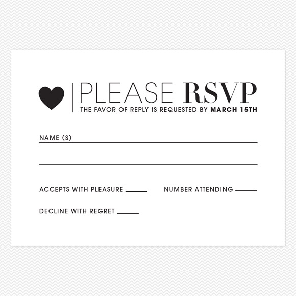 Wedding Response Cards NYC Cheap Invitations RSVP